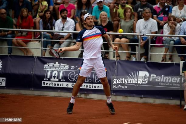Andrej Martin during the final match between Andrea Collarini and Andrej Martin the Internazionali di Tennis Citta' dell'Aquila in L'Aquila, Italy,...