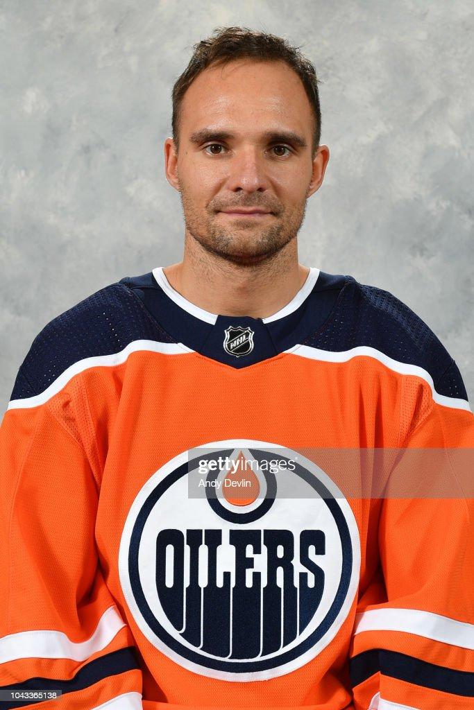 Edmonton Oilers 2018-2019 Headshots : News Photo
