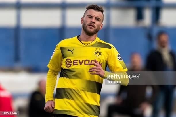 Andrej Yarmolenko of Borussia Dortmund during the friendly match between Borussia Dortmund and Zulte Waregem at the Estadio Municipal Marbella on...