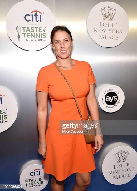 Andreja Klepac attends the Citi Taste Of Tennis gala on August 23 2018 in New York City