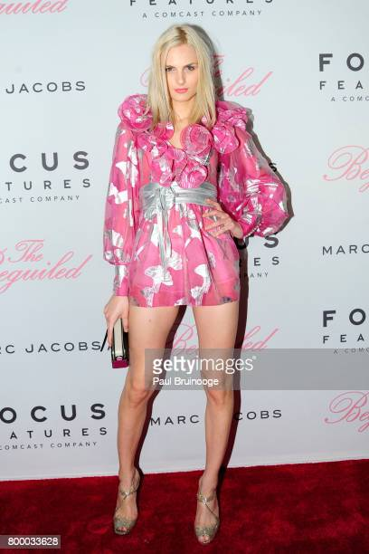 Andrej Pejic attends 'The Beguiled' New York Premiere Arrivals at Metrograph on June 22 2017 in New York City