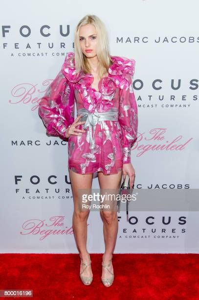 Andreja Pejic attends 'The Beguiled' New York premiere at The Metrograph on June 22 2017 in New York City