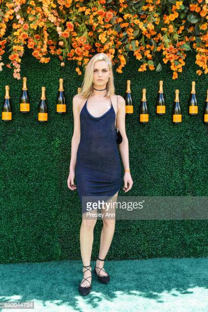 Andreja Pejic attends The Tenth Annual Veuve Clicquot Polo Classic Arrivals at Liberty State Park on June 3 2017 in Jersey City New Jersey