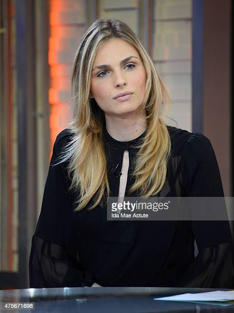 AMERICA Andreja Pejic is an Australian transgender model is a guest on GOOD MORNING AMERICA 6/2/15 airing on the ABC Television Network