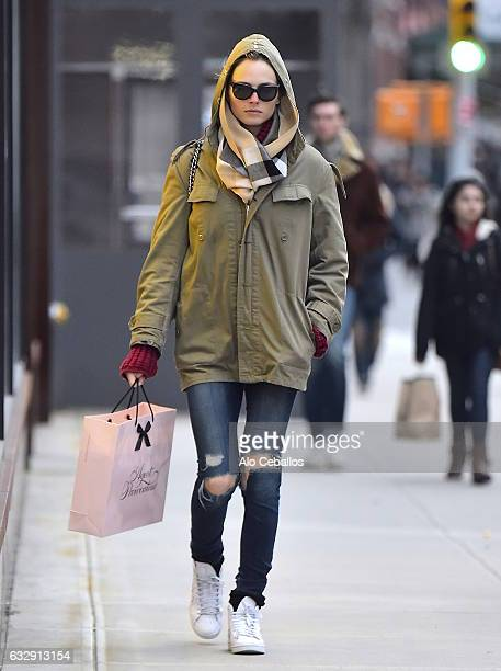 Andreja Pejic is seen in Soho on January 28 2017 in New York City