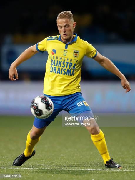 Andrejs Ciganiks of SC Cambuur during the Dutch Keuken Kampioen Divisie match between SC Cambuur v Telstar at the Cambuur Stadium on September 14...