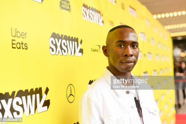 Andrel McPherson attends the The Day Shall Come Premiere 2019 SXSW Conference and Festivals at Paramount Theatre on March 11 2019 in Austin Texas