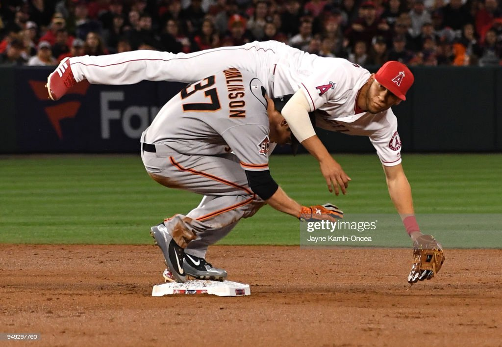 San Franciso Giants  v Los Angeles Angels of Anaheim