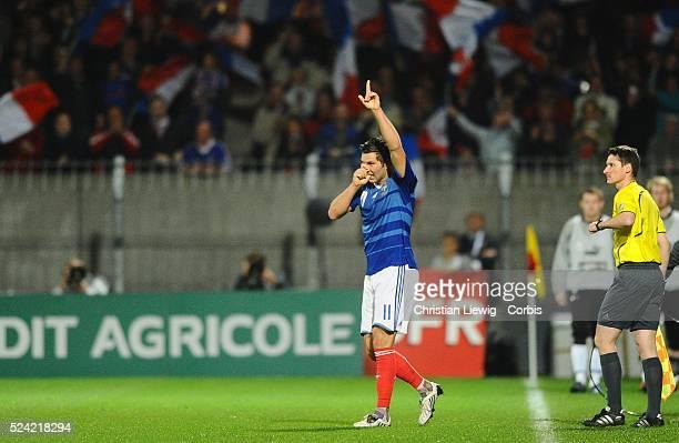 AndrePierre Gignac celebrates scoring a goal
