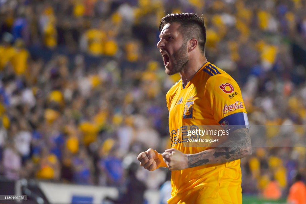 MEX: Tigres UANL v Necaxa - Torneo Clausura 2019 Liga MX