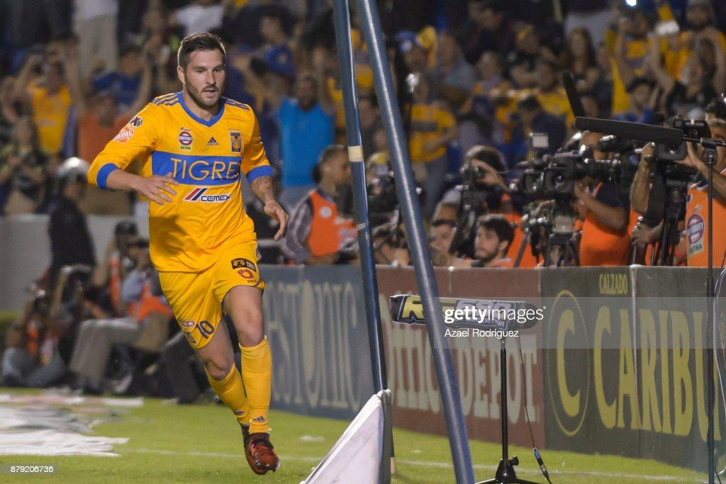 Tigres UANL v Leon - Playoffs Torneo Apertura 2017 Liga MX