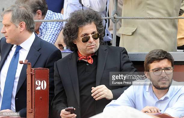 Andres Calamaro attends San Isidro Bullfighting Fair at Las Ventas Bullring on June 4 2014 in Madrid Spain