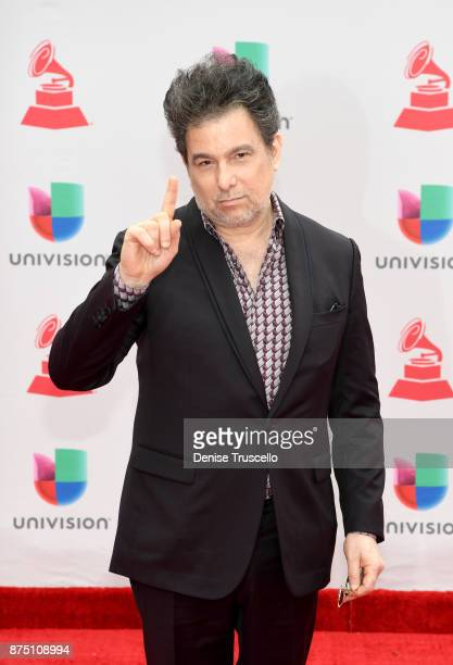 Andres Calamaro attends the 18th Annual Latin Grammy Awards at MGM Grand Garden Arena on November 16 2017 in Las Vegas Nevada