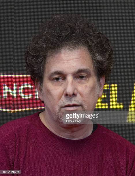 Andres Calamaro attends the premiere of 'El Angel' at the Hoyts Dot Baires cinema on August 7 2018 in Buenos Aires Argentina