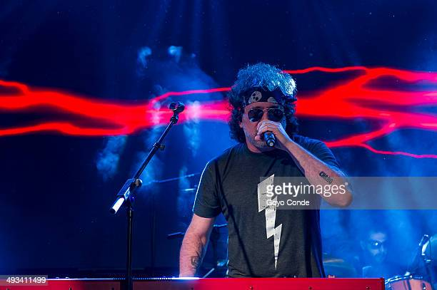 Andres Calamaro concert in La Riviera Bohemio tour 2014 on May 23 2014 in Madrid Spain