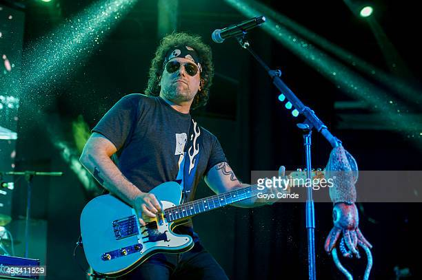 Andres Calamaro concert in 'La Riviera' Bohemio tour 2014 on May 23 2014 in Madrid Spain
