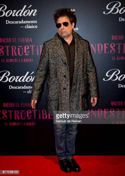Andres Calamaro during 'Indestructible' premiere on November 21 2017 in Madrid Spain