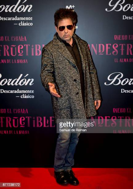 Andres Calamaro during Indestructible premiere on November 21 2017 in Madrid Spain
