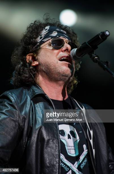 Andres Calamaro Performs at Palacio Magdalena on July 26 2014 in Santander Spain