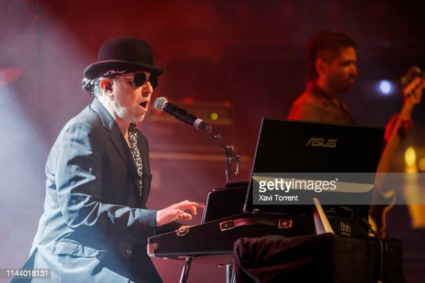 Andres Calamaro performs in concert at Gran Teatre del Liceu during Guitar BCN on May 15 2019 in Barcelona Spain