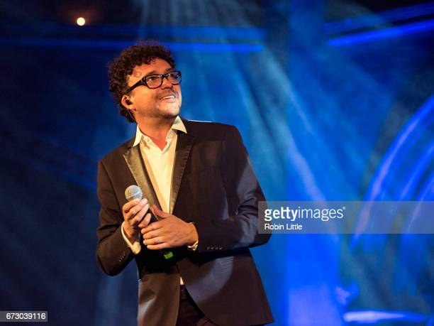 Andres Cepeda performs at the Union Chapel on April 25 2017 in London United Kingdom