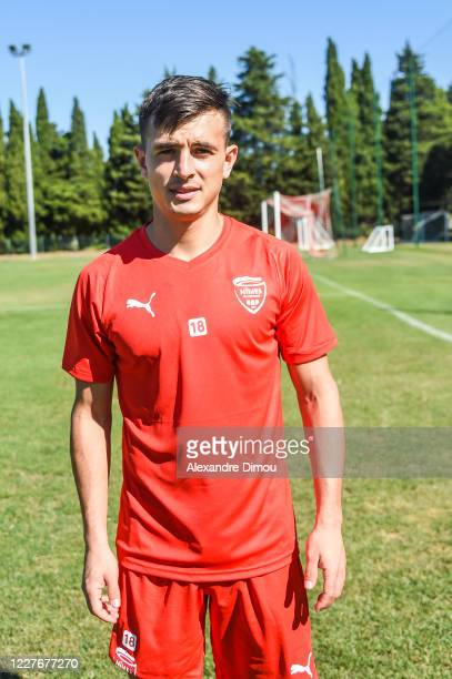 Andres CUBAS of Nimes during the friendly match between Nimes and Nimes B on July 18, 2020 in Nimes, France.