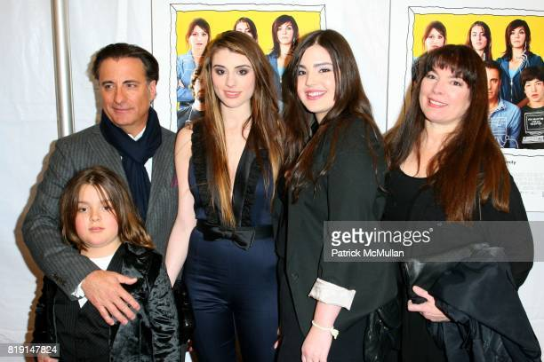 Andres Garcia Andy Garcia Dominik Garcia Lorido Alessandra GarciaLorido and Maria Victoria Lorido attend FOR ANCHOR BAY Films Premiere of CITY ISLAND...
