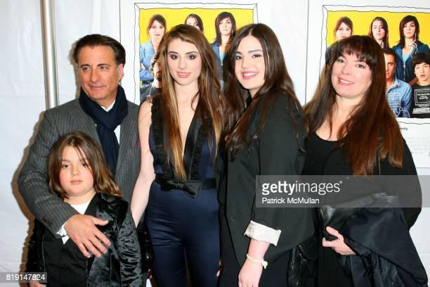 Andres Garcia, Andy Garcia, Dominik Garcia Lorido, Alessandra Garcia-Lorido and Maria Victoria Lorido attend FOR ANCHOR BAY Films Premiere of CITY...