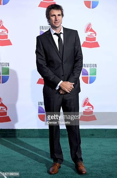 Andres Gomez arrives at the 12th Annual Latin GRAMMY Awards held at the Mandalay Bay Resort Casino on November 10 2011 in Las Vegas Nevada