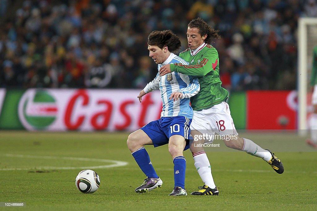 Argentina v Mexico - 2010 FIFA World Cup : News Photo