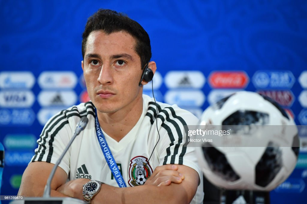 Mexico Training and Press Conference - FIFA World Cup Russia 2018