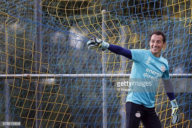 Andres Guardado of PSV during the preseason training camp of PSV Eindhoven on July 15 2016 at Verbier Switzerland