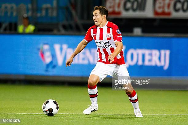 Andres Guardado of PSV Eindhoven during the Dutch Eredivisie match between Excelsior Rotterdam and PSV Eindhoven at Woudenstein stadium on September...