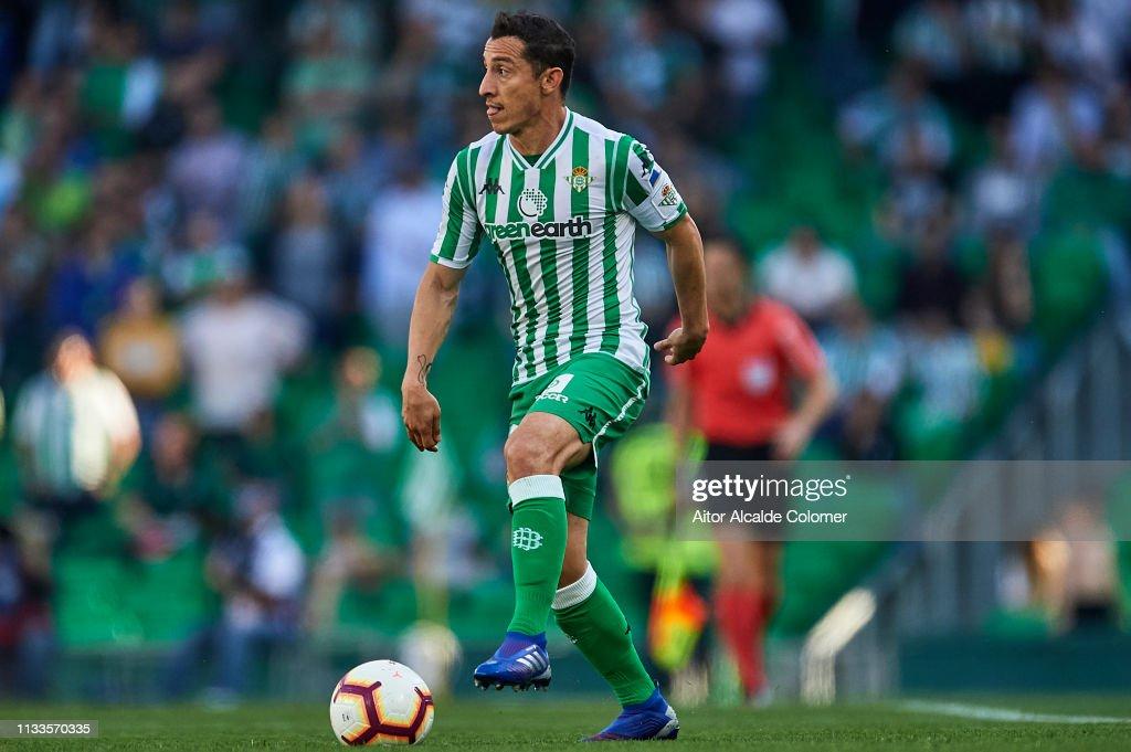 Real Betis Balompie v Getafe CF - La Liga : News Photo