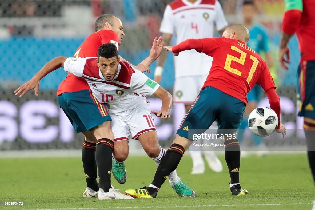 Spain v Morocco : Group B - 2018 FIFA World Cup Russia : News Photo