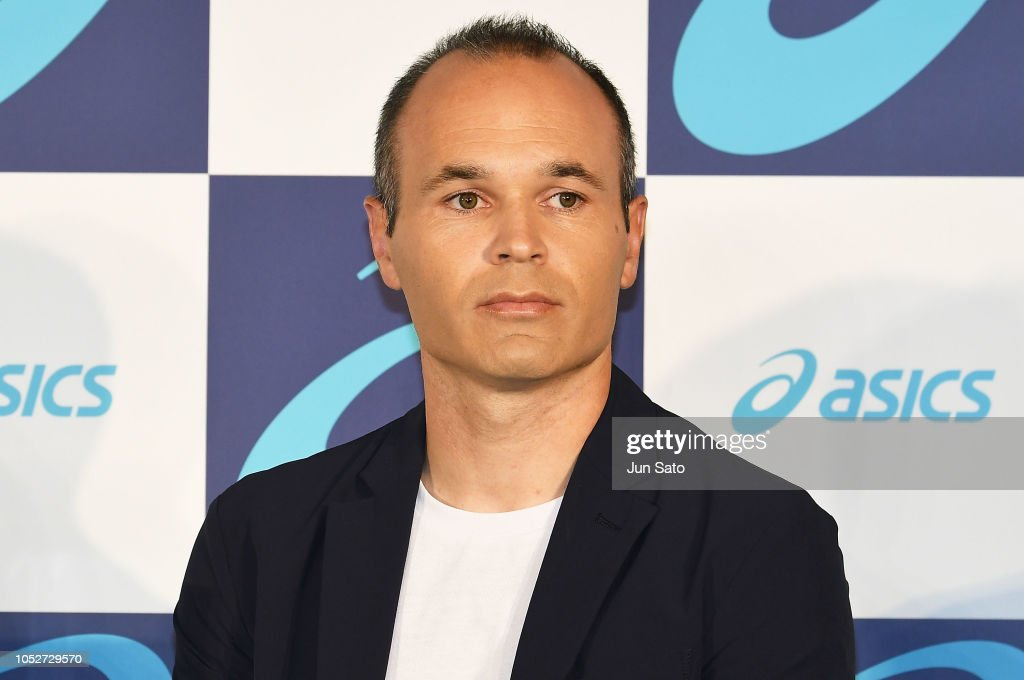 Asics Announces New Boot Deal With Andres Iniesta : News Photo