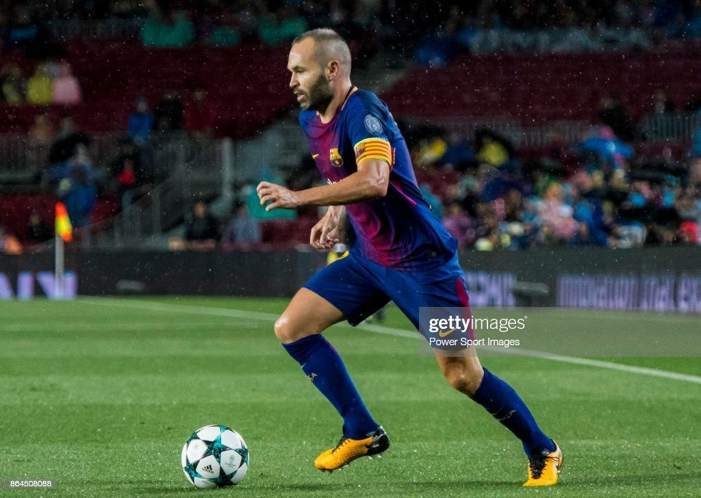 UEFA Champions League 2017-18 - FC Barcelona vs Olympiacos FC : ニュース写真