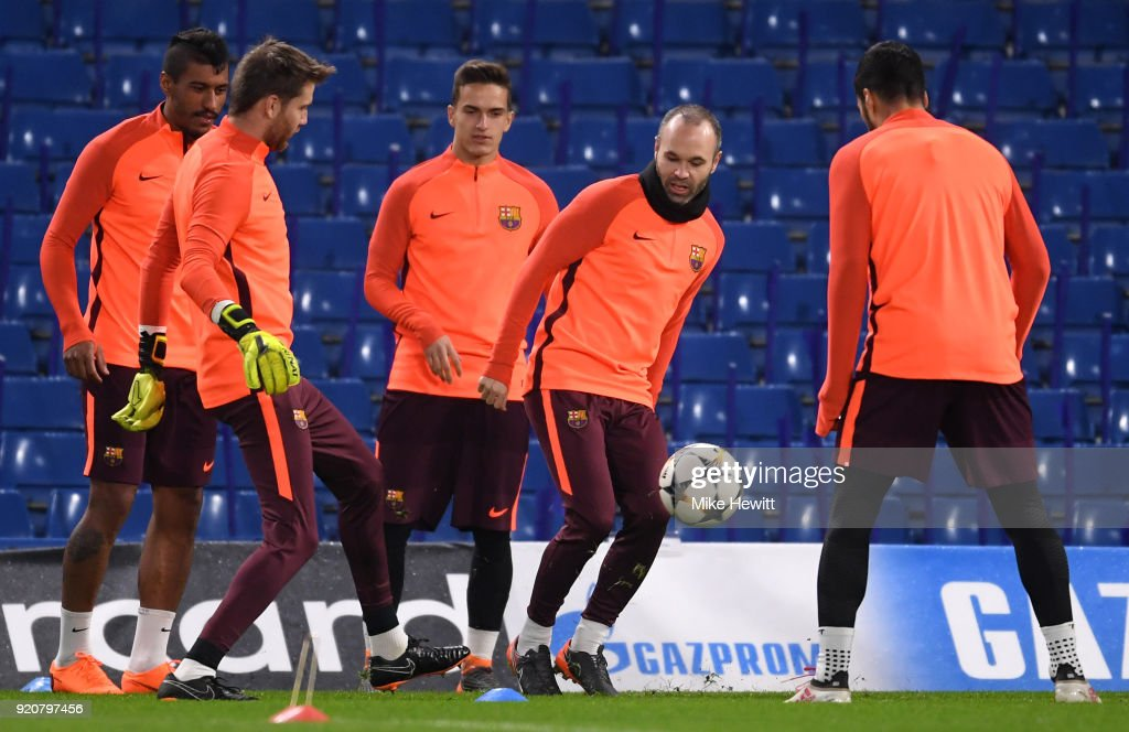 FC Barcelona Training Session