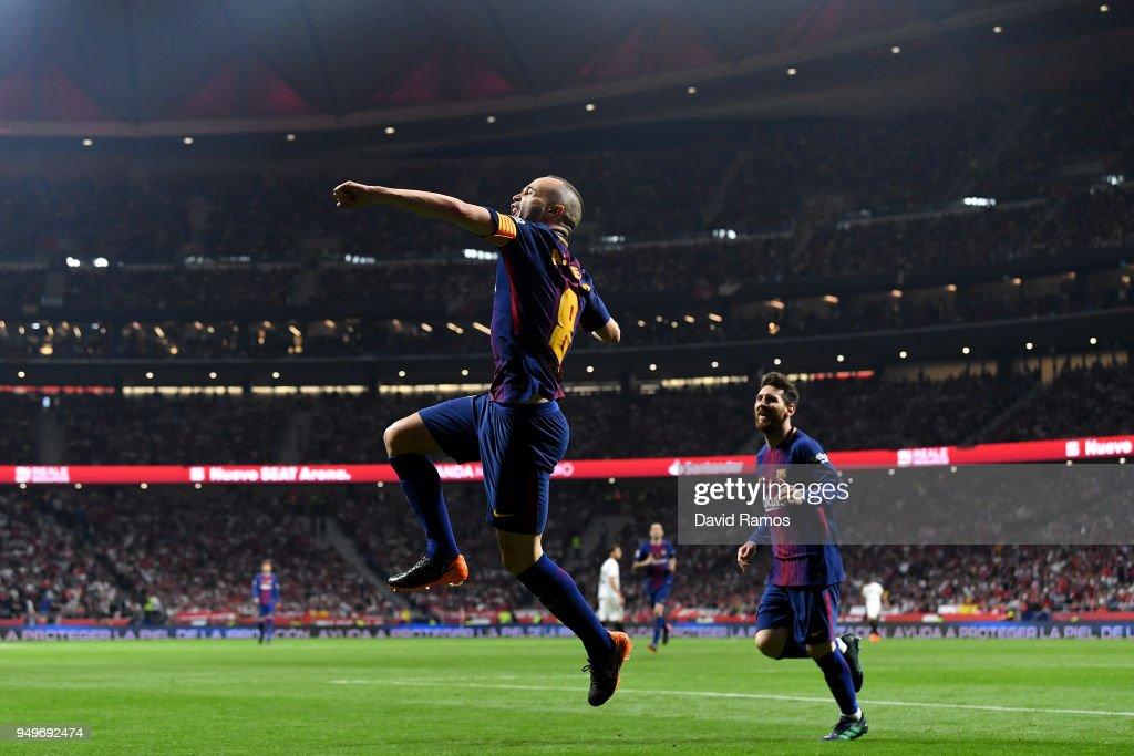 Barcelona v Sevilla - Spanish Copa del Rey Final : ニュース写真
