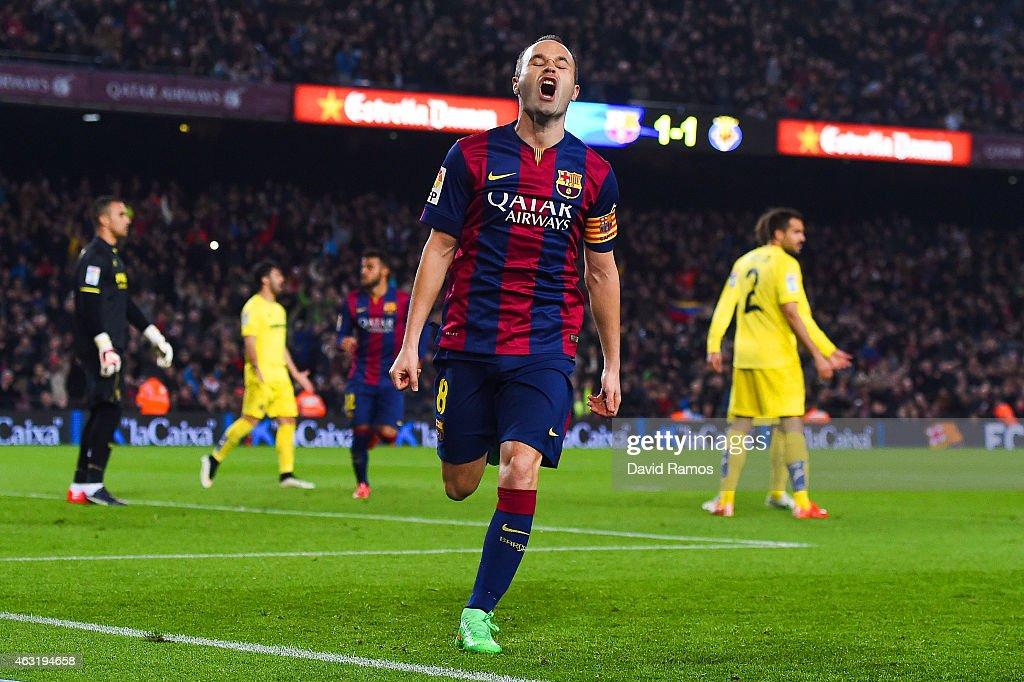 Barcelona v Villarreal CF - Copa del Rey Semi-Final: First Leg