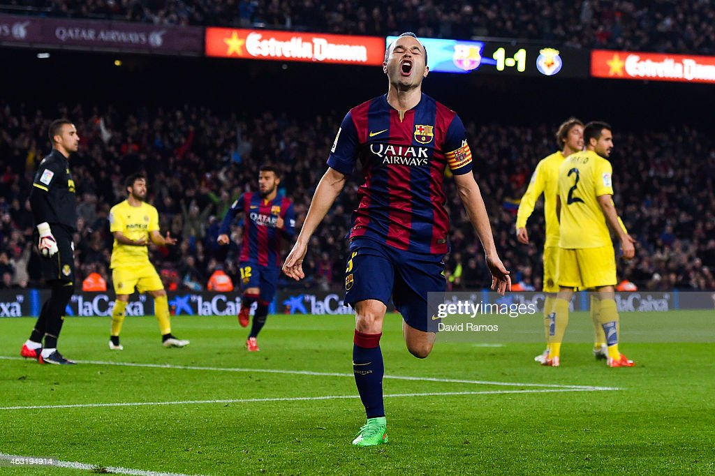 Barcelona v Villarreal CF - Copa del Rey Semi-Final: First Leg