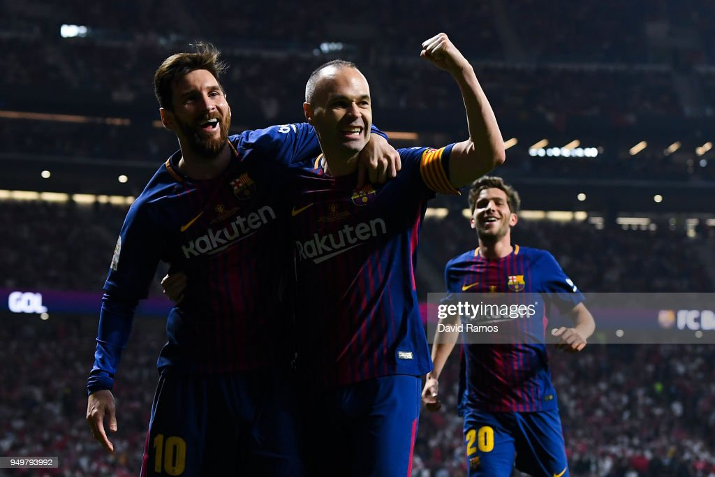 Barcelona v Sevilla - Spanish Copa del Rey Final : News Photo