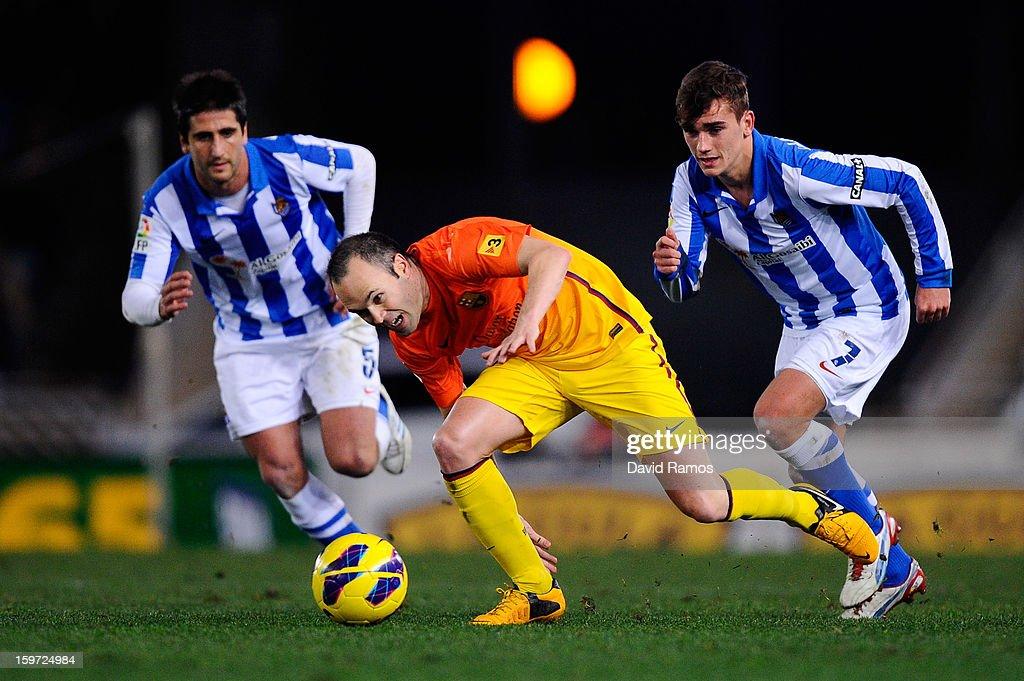 Real Sociedad v FC Barcelona - La Liga : News Photo