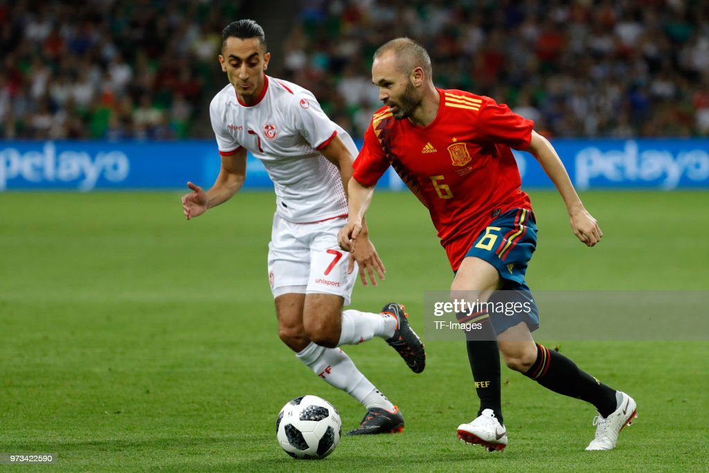 Spain v Tunisia - International Friendly : ニュース写真