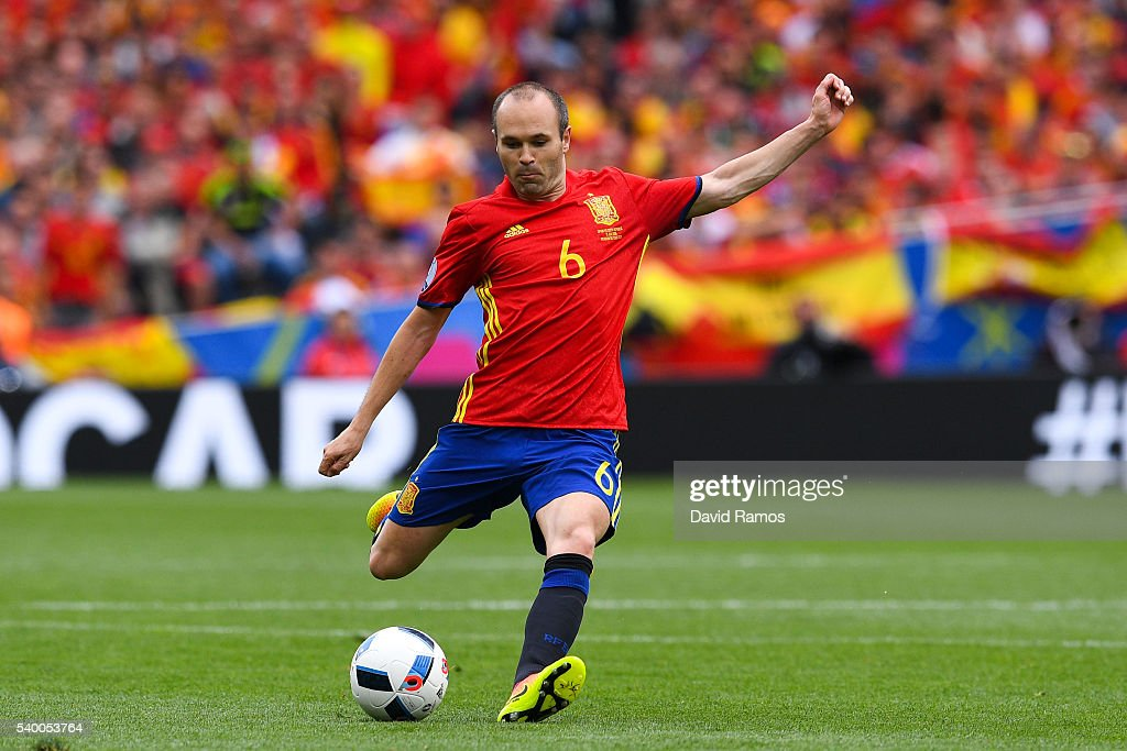 Spain v Czech Republic - Group D: UEFA Euro 2016 : News Photo