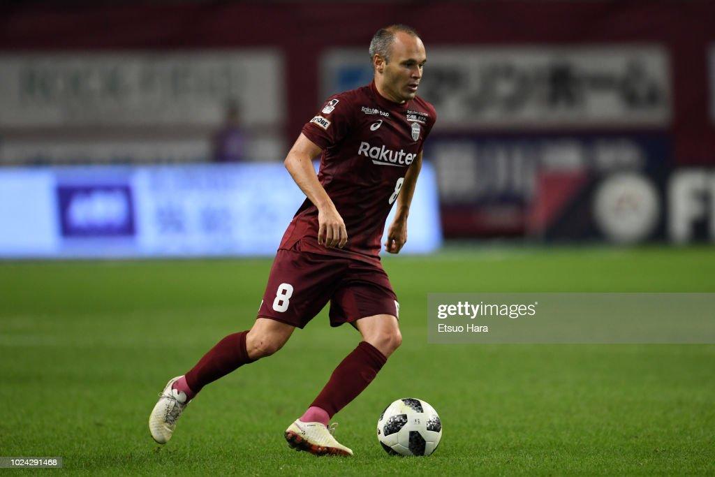 Vissel Kobe v Yokohama F.Marinos - J.League J1 : News Photo