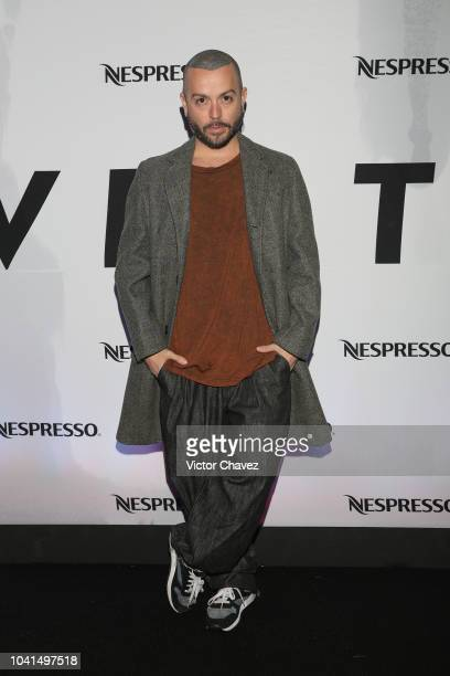 Andres Jimenez Mancandy attends the Nespresso Vertuo launch on September 26 2018 at Piacere in Mexico City Mexico