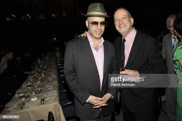 Andres Levin and Enrique Norten attend ENRIQUE NORTEN Private Dinner Celebrating the 25th Anniversary of TEN ARQUITECTOS at The Four Seasons...