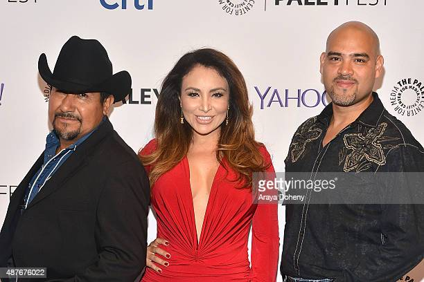 Andres Maldonado Silvia Del Valle and Raul Molinar attend The Paley Center For Media's PaleyFest 2015 Fall TV Preview Univision at The Paley Center...