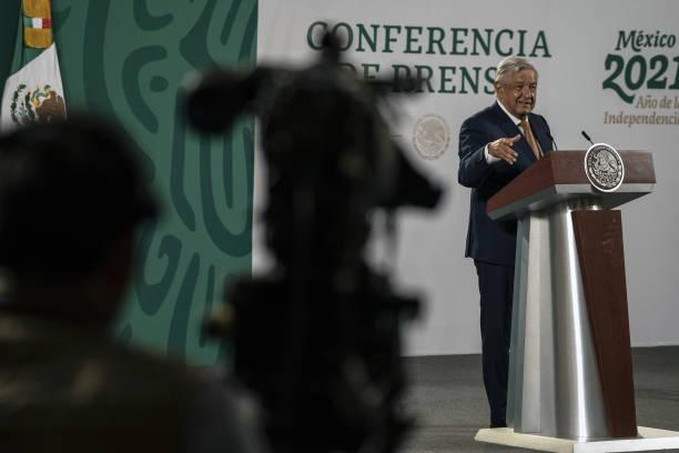 MEX: President Lopez Obrador Holds Press Briefing